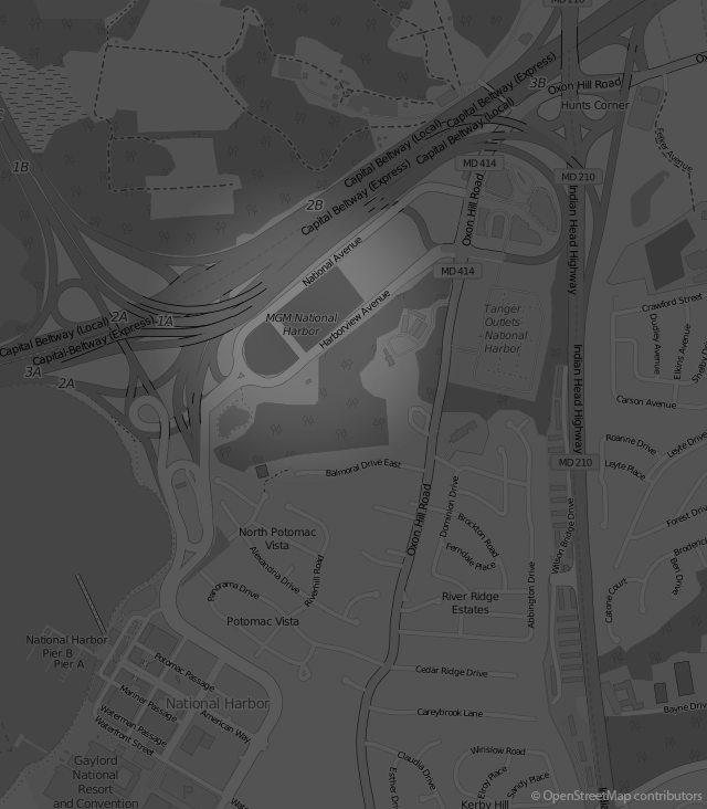 Footer Site Map: MGM National Harbor