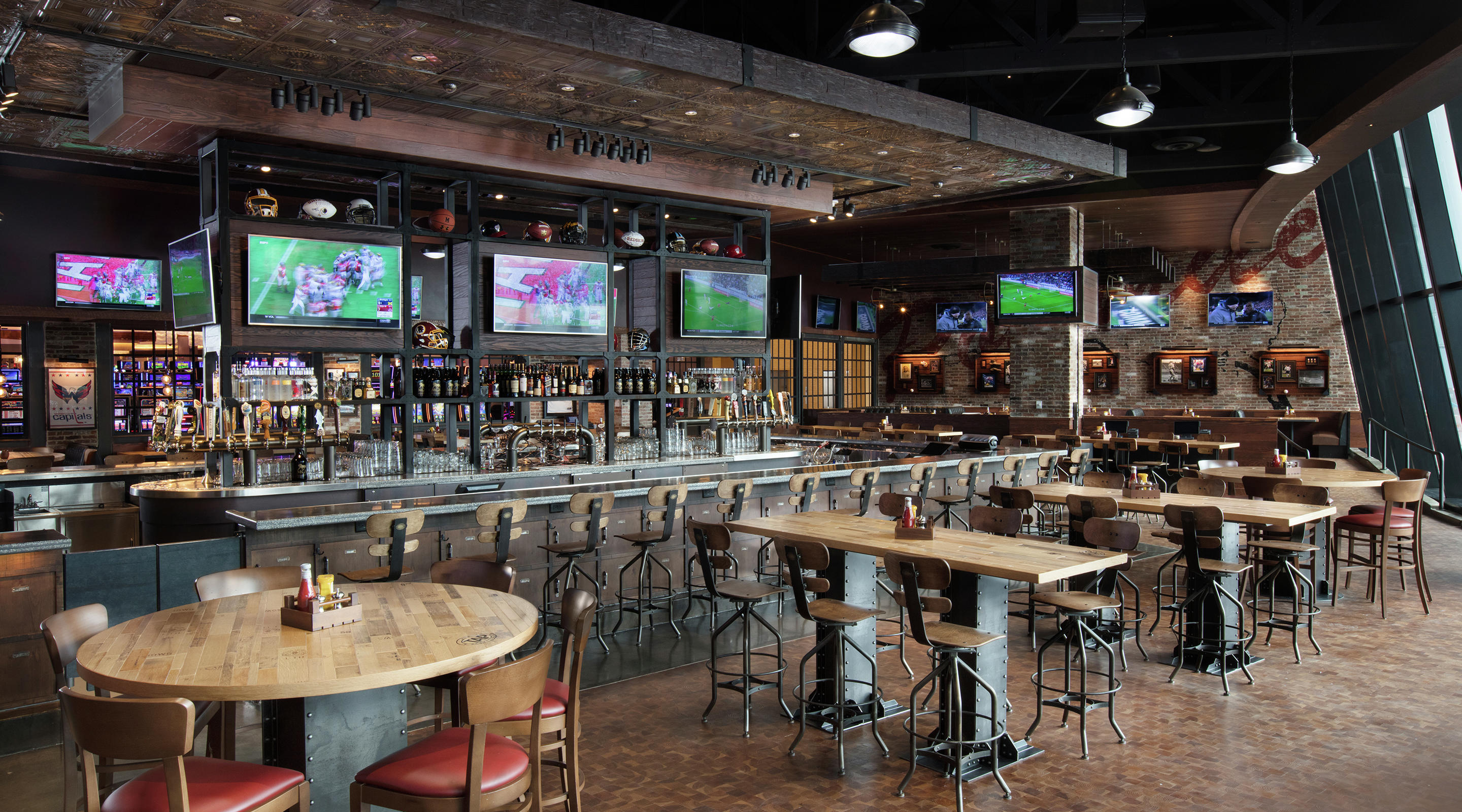 TAP is the perfect place to root for your favorite teams.