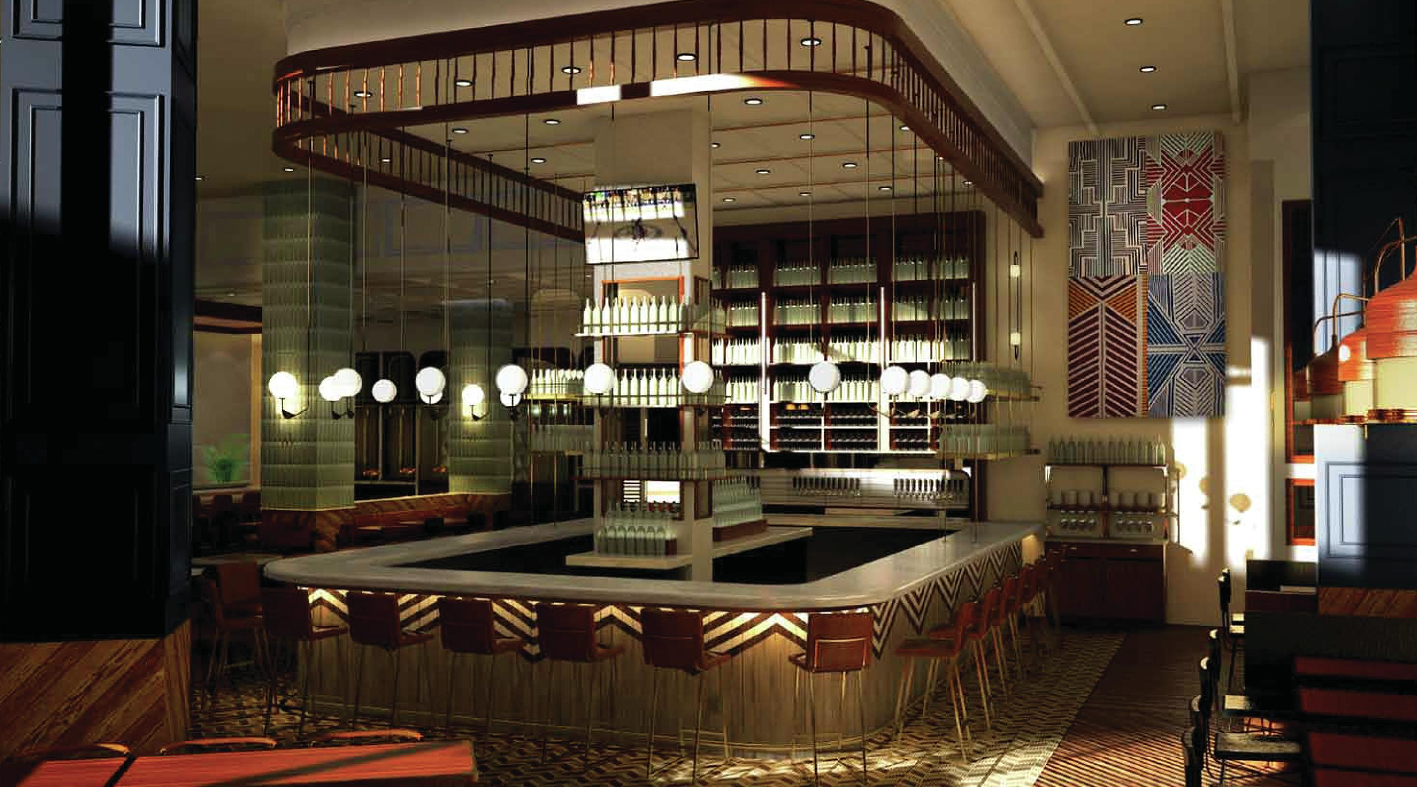 Open Dining Room Cocktail Lounge Blossom Mgm National Harbor